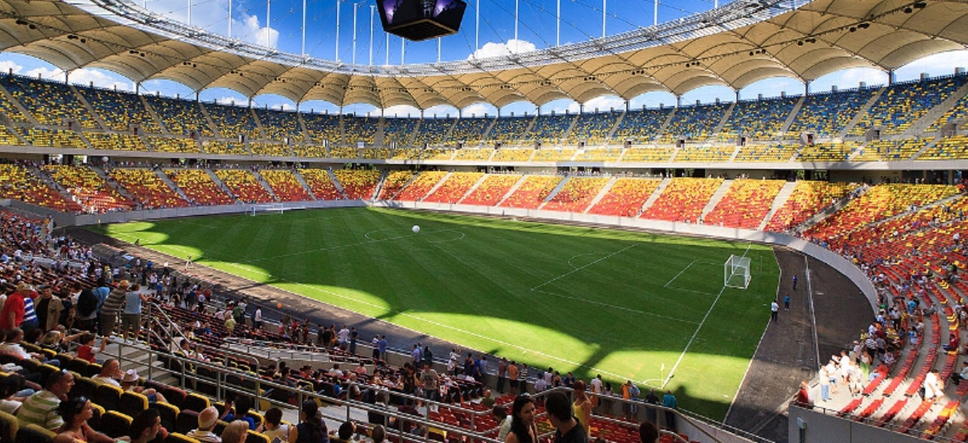 Romania sporting events national arena