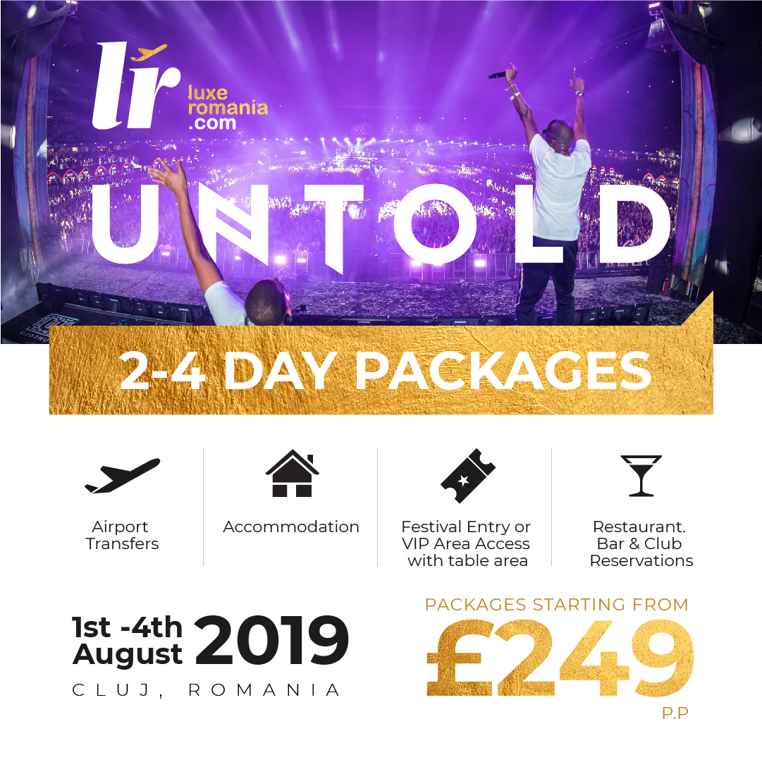 Festival Package for Untold 2019
